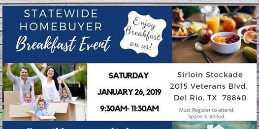STATEWIDE HOME BUYERS BREAKFAST EVENT