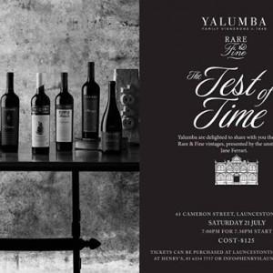 Yalumba The Test of Time with Jane Ferrari