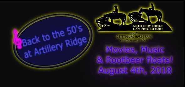50s Dance Party at Artillery Ridge | Gettysburg