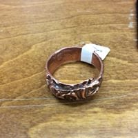 Metal Clay Copper Ring Class 2