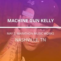Machine Gun Kelly in Nashville