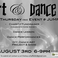 1st Thursday Dance &amp Art Event