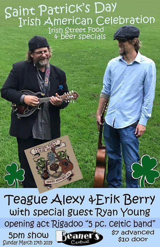 Teague Alexy & Erik Berry with Ryan Young  Rigadoo