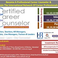 Certified Career Counselor CCC Lahore