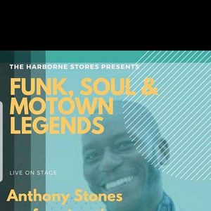 Anthony Stones Friday 9th August 9pm