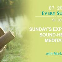 Sundays Experimental Sound-Healing Meditation with Marko Zigon