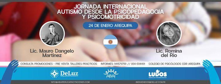 Jornada Internacional Autismo Psicopedagogia Y Psicomotricidad