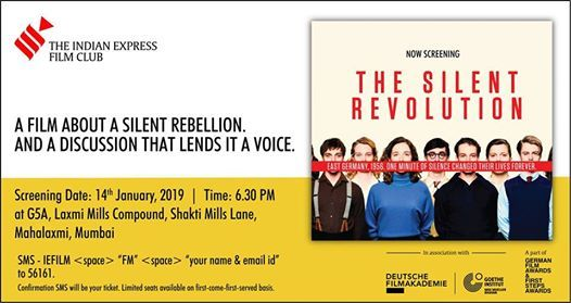 The Silent Revolution Screening in Mumbai by IE Film Club