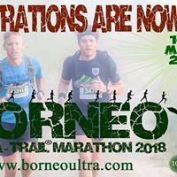 Borneo Ultra Trail Marathon 2018