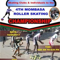 The 1st National Roller Skating Competition In Mombasa