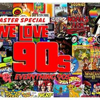 We Love 90s - Bank Holiday Throwback