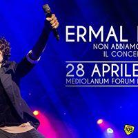 Ermal Meta - Non Abbiamo Armi live Mediolanum Forum di Assago