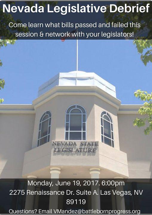 Nevada Legislative Debrief - Southern Nevada