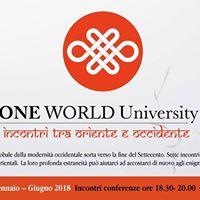One World University - Incontri tra Oriente e Occidente