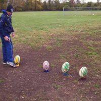 Kicking Clinic with International kicking coach Damien Hill