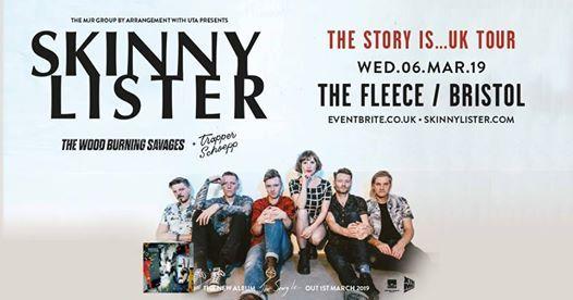 Skinny Lister at The Fleece Bristol