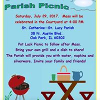 Parish Picnic St. Catherine of Siena- St. Lucy