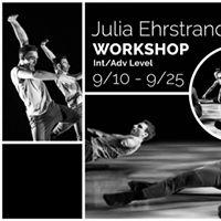 Julia Ehrstrand Fall Workshop