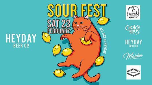 Heyday Beer Co Sourfest