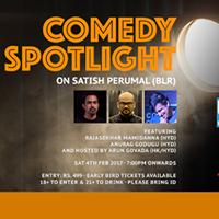 Comedy Spotlight on Satish Perumal (BLR)