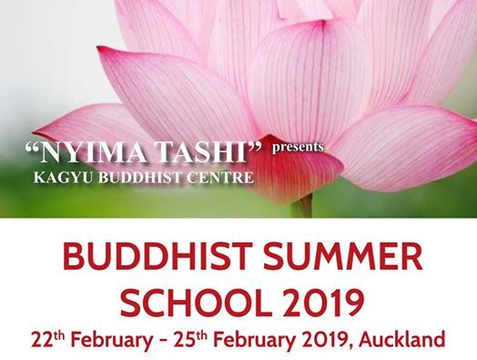 Buddhist Summer School 2019