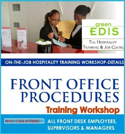 Front Office Procedures