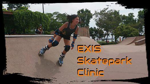 EXIS Skatepark Clinic