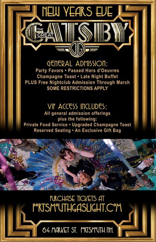 Gatsby New Years Eve Party