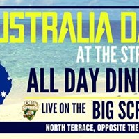 Australia Day at The Strath