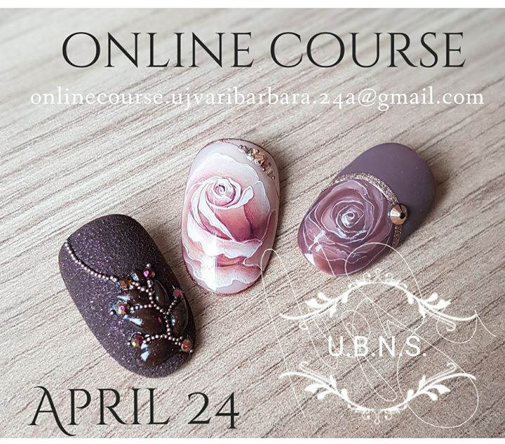 Online Course Barbara Jvri Nail Art Gel Painting Technique At