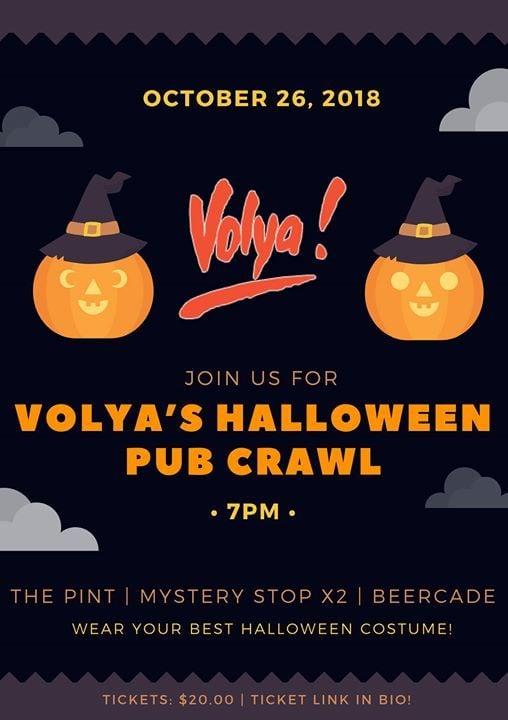 Volyas Annual Halloween Howler Pub Crawl