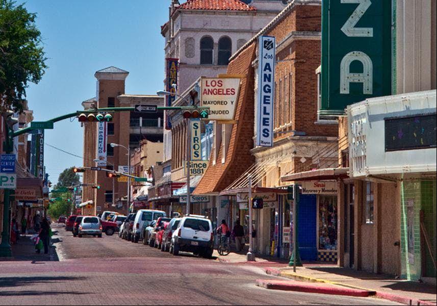 Beautification Effort-Downtown Laredo