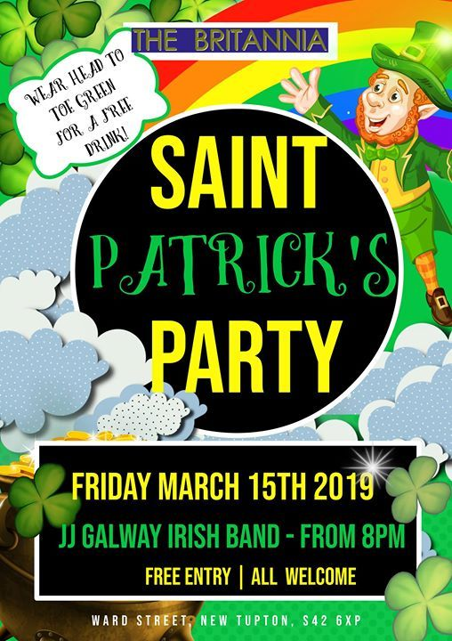 St Patricks Party with Jj Galway
