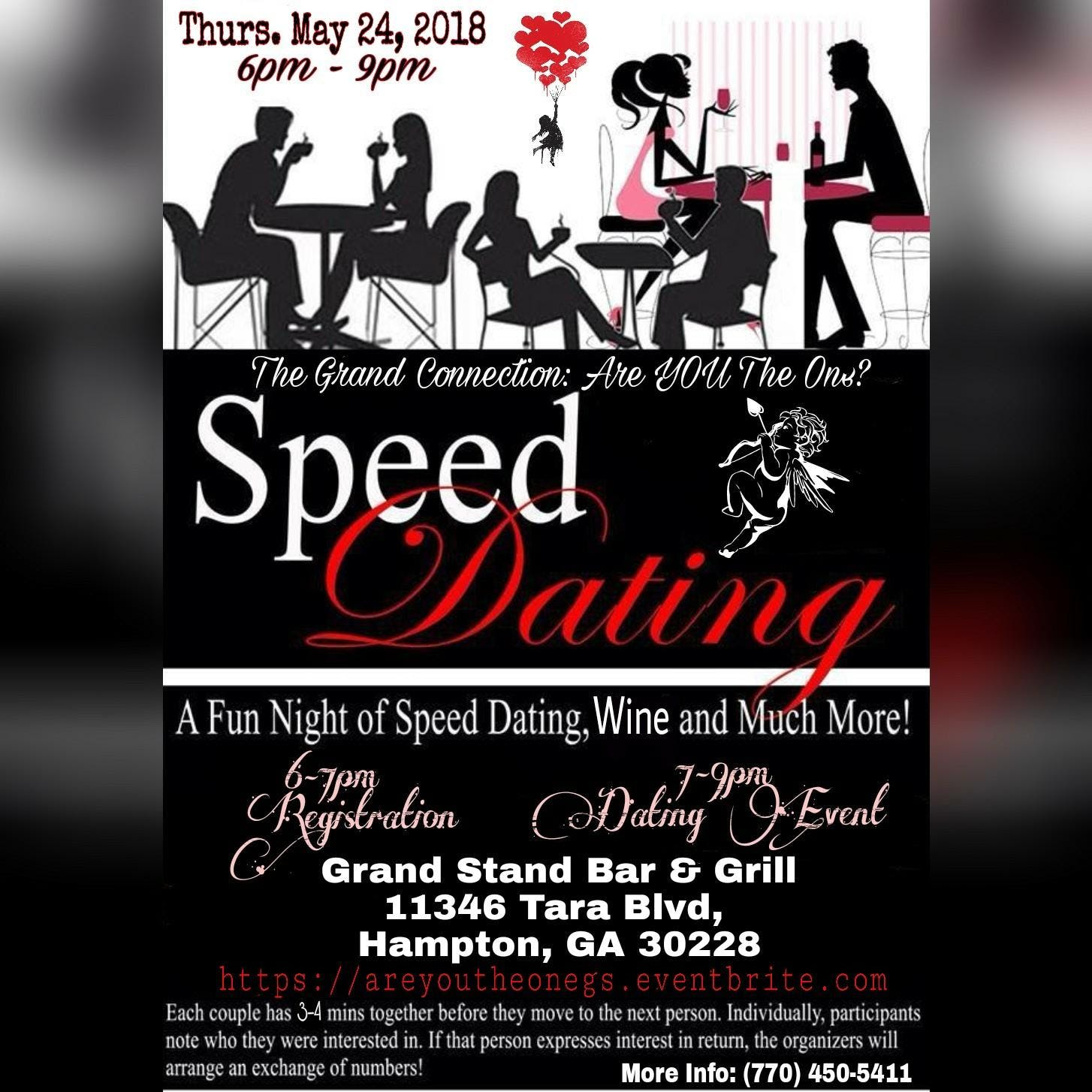Unfortunately all. I can now add speed dating to my list of things I have experienced!