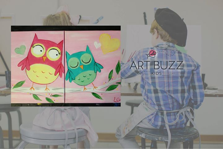Art Buzz Kids Mommy Me Owls At Wine Design Lees Summit