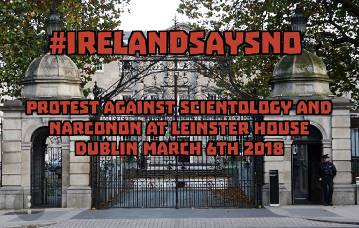 Protest Against Scientology And NARCONON IRELANDSAYSNO