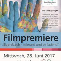 Filmpremiere Stadt Ebersbach  tolerant und einladend