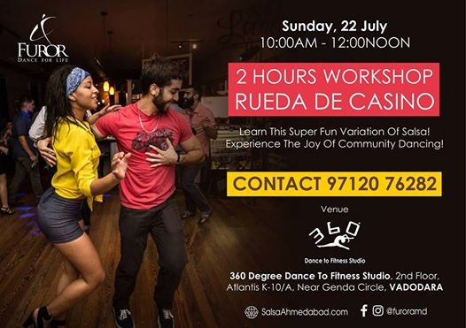 Dance Workshop Rueda de Casino (Vadodara)