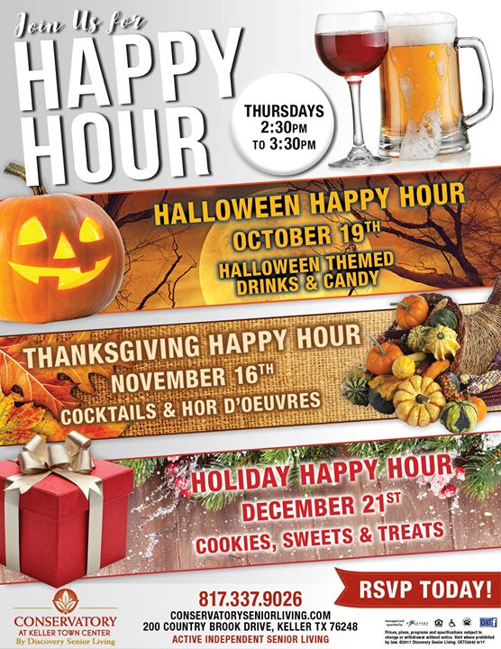 holiday happy hour at 200 country brook dr keller tx 76248 2125