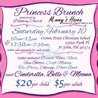 Mommys Haven Princess Brunch