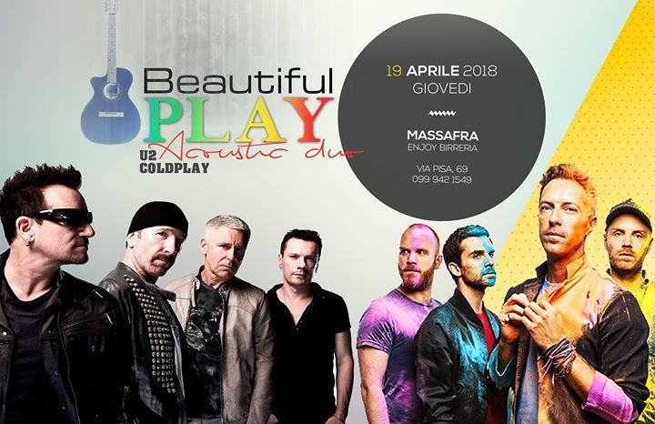 Beautiful Play U2 & Coldplay Acoustic Duo - Massafra at