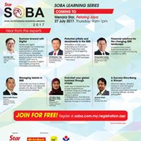 SOBA 2017 Learning Series PJ
