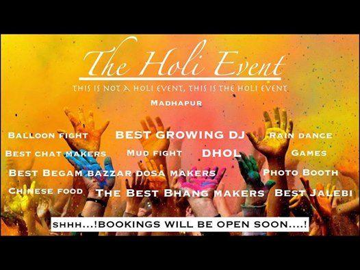 The Holi Event