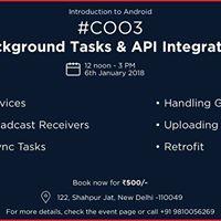 C003 - Background Tasks and API Integration