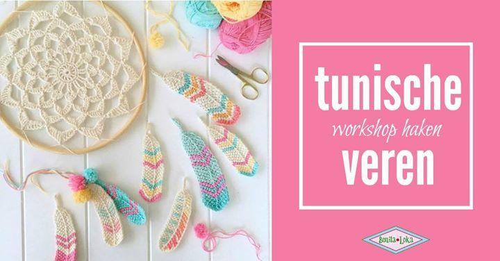 Tunische Veren Haken Op Dinsdagochtend 27 Juni At Atelier Bonita