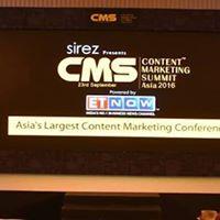 Content Marketing Summit Asia 2017