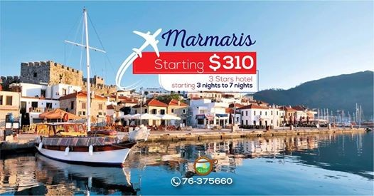 Travel to Marmaris Alanya and many other destinations