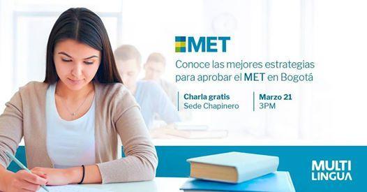 Charla MET Gratis en Bogot