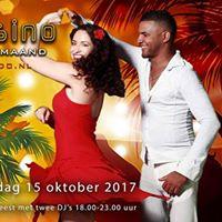 Cubaans salsafeest  Pea de Casino  met twee djs