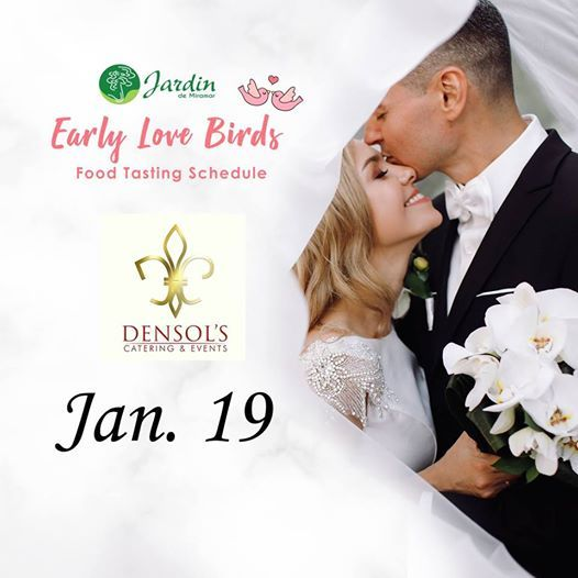 Densol caterings Early Love Birds food tasting event